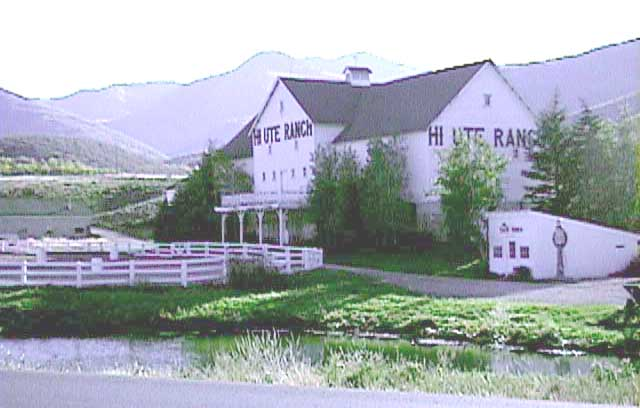 Hi-Ute Ranch on Kilby Rd. (Landmark Dr.), Summit County, Utah c.1998
