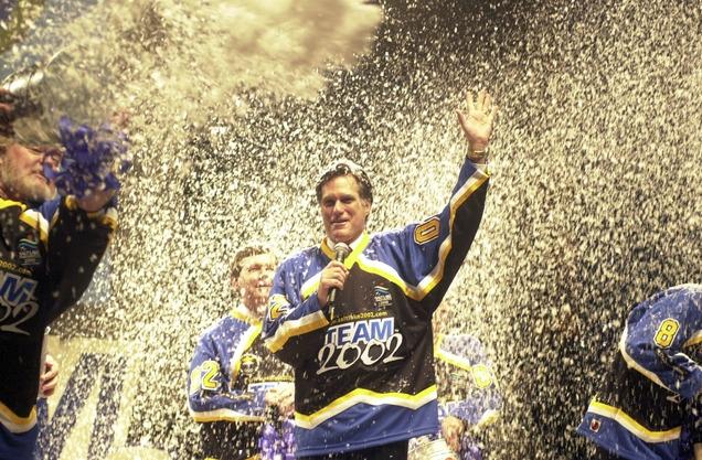 2002 Winter Olympics - Mitt Romney CEO