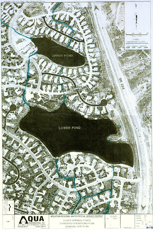 2003 Aerial of Upper and Lower Ponds