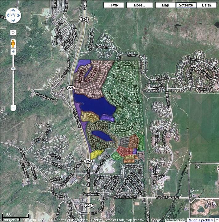 2009- Google Earth SSCommunity Enhanced aerial map