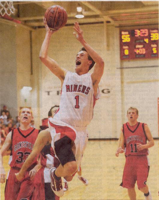 2009 December 9 - Sam Sisk Miner Basketball #1
