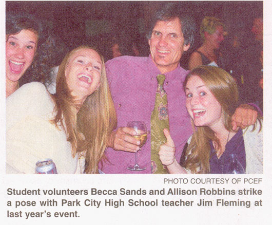 2009 - Sep 19 - Jim Fleming, PCHS History teacher at PCEF fundraiser