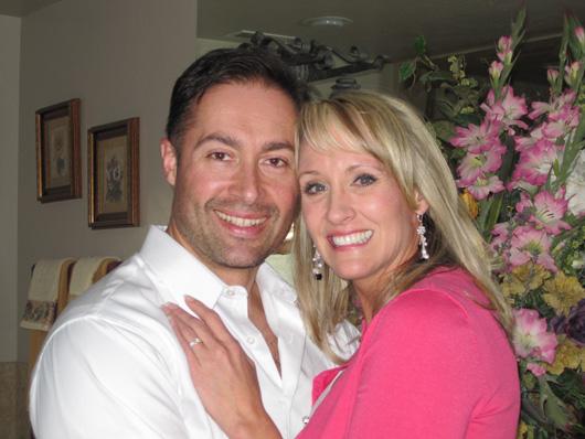 2010 - Feb 14 Michael and Tiffany wed