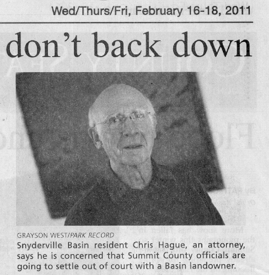 2011-Feb-16-Citizen: don't back down - Chris Hague