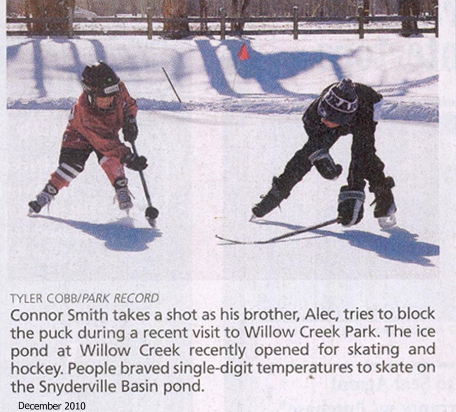 2011- Willow Creek Park hockey