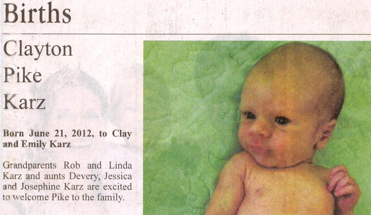 2012 June 21 Clayton Pike Karz