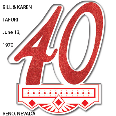 2010 - June 13, 1970 Tafuri Anniversary