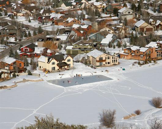 Silver Springs Lake - Mooney Ice Rink - courtesy of Bob Follett