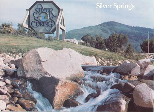 Silver Springs 1980 brochure photo - courtesy of Vern C. Hardman