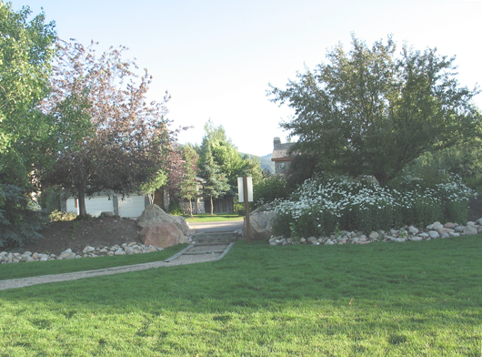 Silver Springs Community Park - center entry - 2008