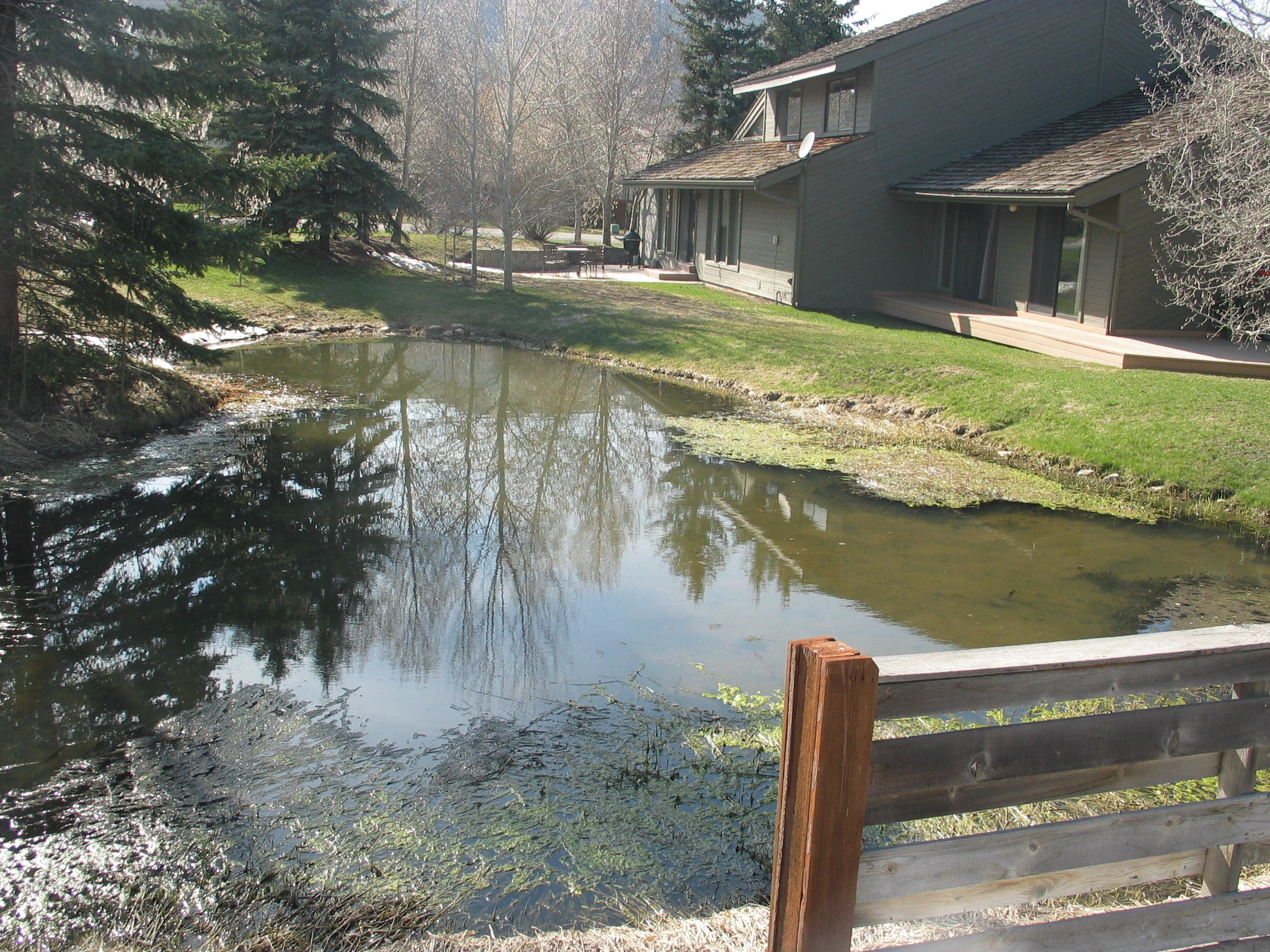 retention pond on SLS-173