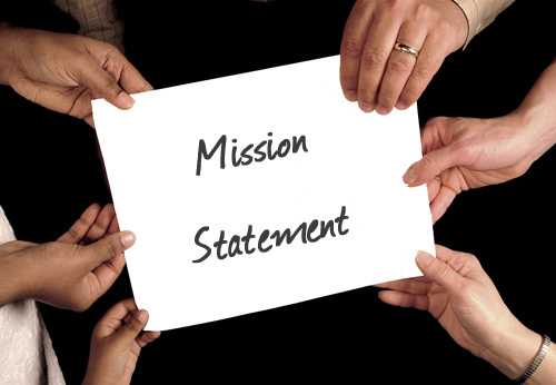 co-authoring a mission statement
