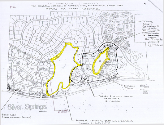 Enjoyment Easement Map