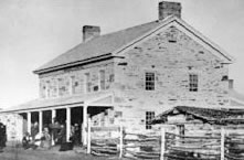 Kimball Overland Stage and Pony Express station near Kimball's Junction - built in 1862