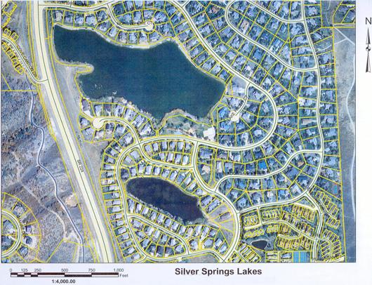Lake Access plat map - 2004