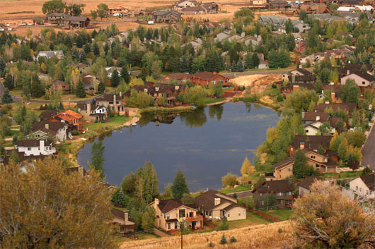 Duck Lake in the Fall - Photo courtesy of Bob Follett