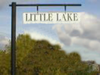 Little Lake at Silver Springs - sign