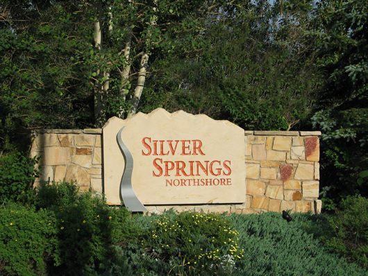 2008 - Silver Springs NorthShore entry sign