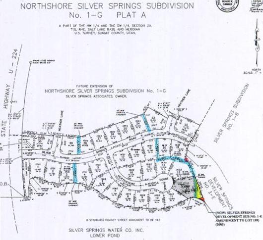North Shore Silver Springs Subdivision 1989 No. 1-G Plat A