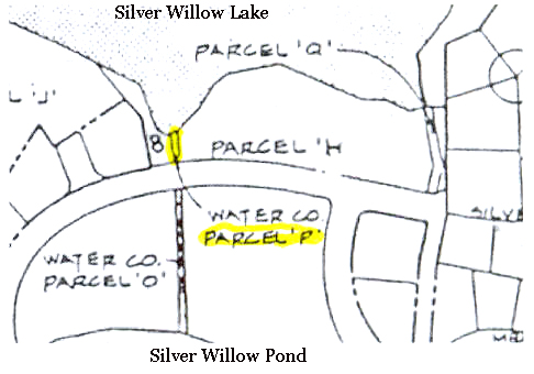 Parcel P - between Park Place and Silver Springs Park