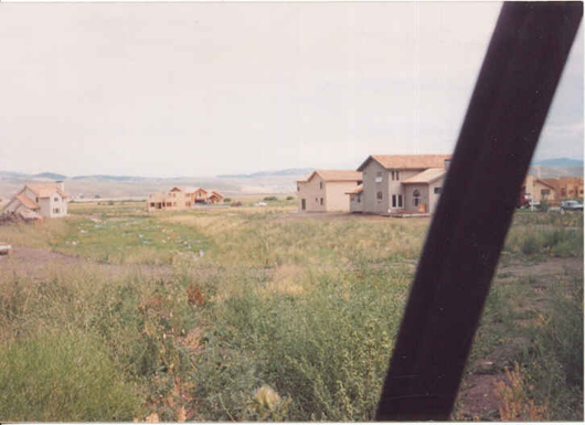 Parcel T in 1984 - house in center is Lot 84