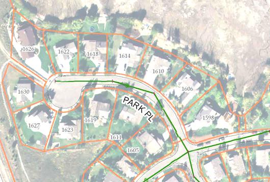 Park Place - aerial