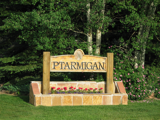 Ptarmigan Townhouses - Silver Springs Master Association - entry sign 2008