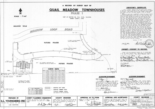 Quail Meadows Townhouses (Condos) Phase 1 - 1982