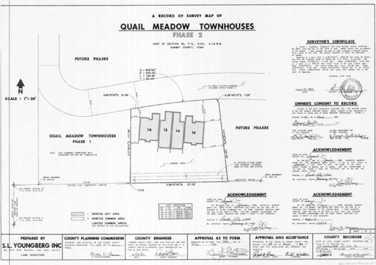Quail Meadow Townhouses (Condos) Phase 2 - 1982