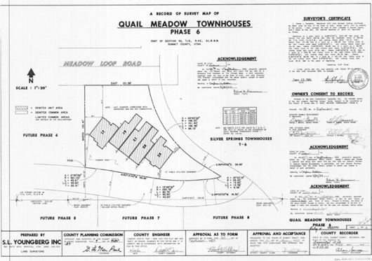 Quail Meadow Townhouses (Condos) Phase 6 - 1982