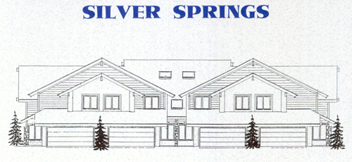Ptarmigan Townhouses - Silver Springs Master Association - 1992 sketch