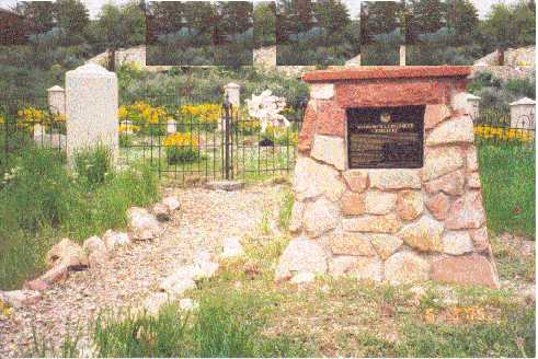Snyderville Cemetery dedicated by the Daughters of Utah Pioneers and the Sons of Utah Pioneers