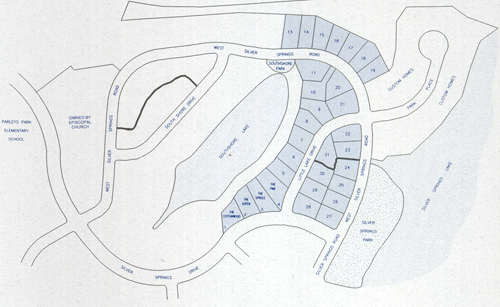 South Shore - a part of Silver Springs Master Association - site plan