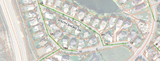 South Shore - south half