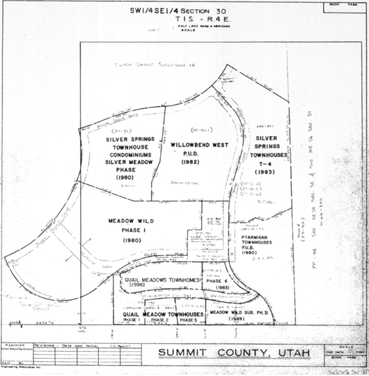 Silver Springs Section 30 plat map - 2008