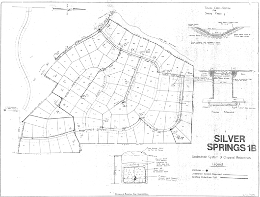 Underdrain System - 1979 Proposed for SS-1B