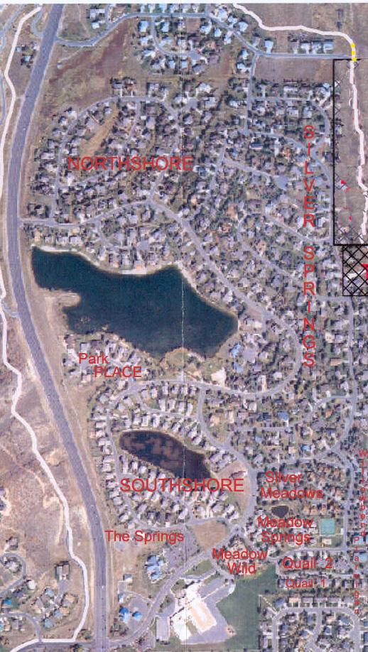 2007 - SSMHOA 13 Subdivisions map