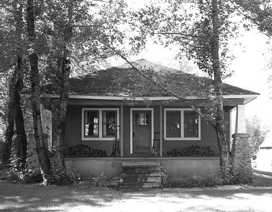 Thomas Powers house built c.1960 at 4137 Hwy 224 Summit County, Utah