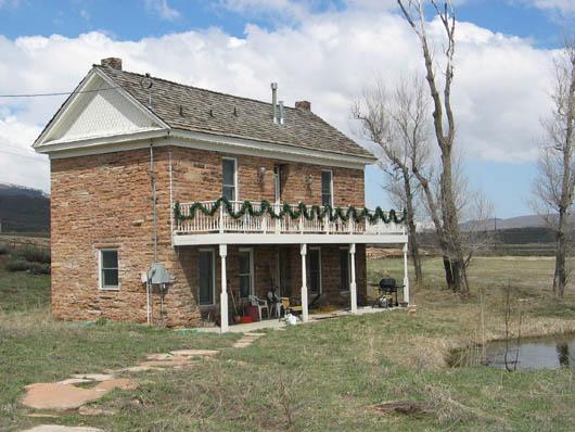 R.H. Fletcher Ranch, later Wallin Dairy Farm, 5376 Hwy 224, Summit County, Utah