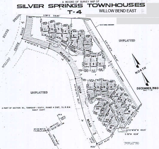 Willow Bend West - 1982 Silver Springs Townhouses - T-4