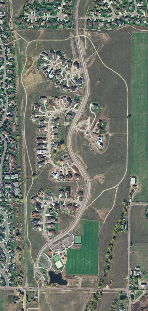 Willow Creek Aerial Map - 2006